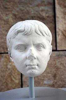 Gaius Caesar Son of Marcus Vipsanius Agrippa and Julia the Elder, Emperor Augustus only daughter (20 BC-AD 4)