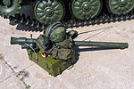 9S935 automate complex for MANPADS squad from Barnaul-T AA system at Engineering Technologies 2012.jpg