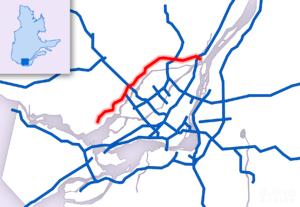Quebec Autoroute 640 - Image: A 640 mtl
