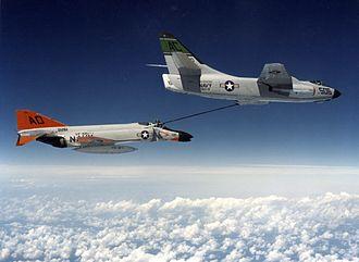 "McDonnell Douglas F-4 Phantom II - Transcontinental ""Operation LANA"" in 1961"