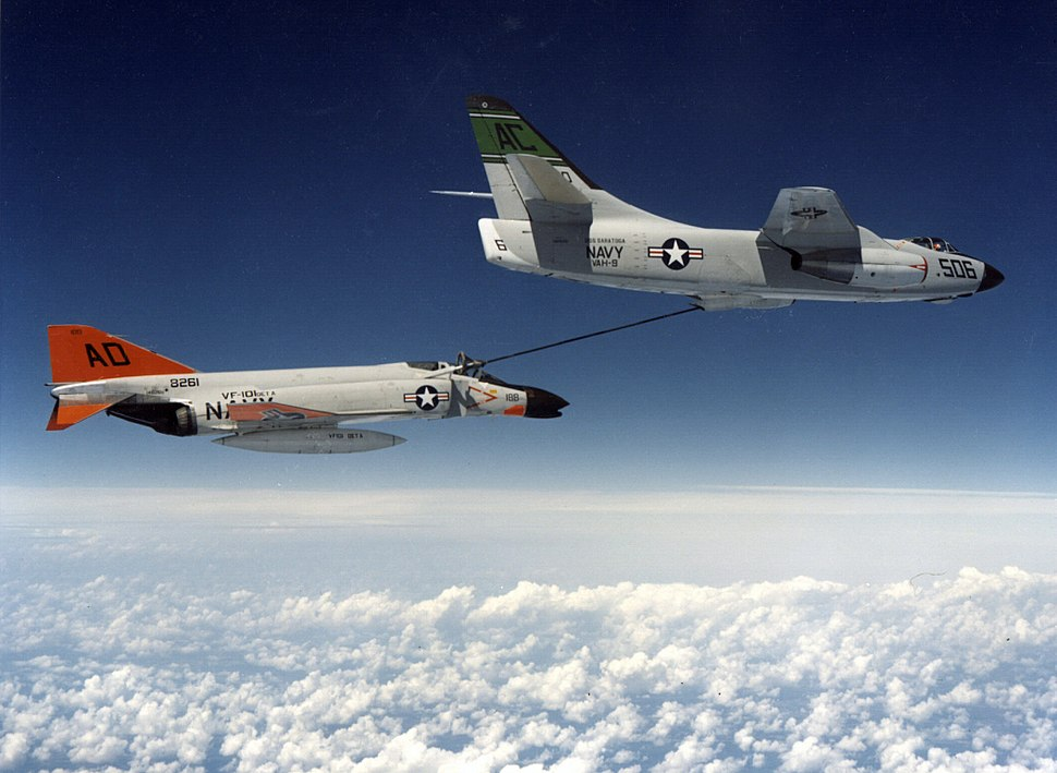 A3D-2 refueling F4H-1F during Project LANA 1961.jpeg