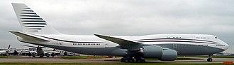 Boeing Business Jet - Qatar Amiri Flight 747-8 VIP