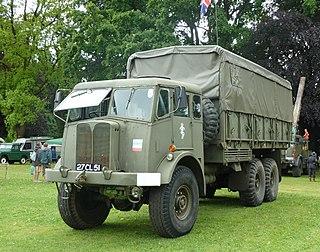 AEC Militant Type of Medium/heavy artillery tractor, 10-ton cargo truck