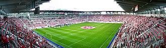 St. Gallen - kybunpark, home stadium of FC St. Gallen