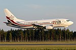 AIR X Charter, 9H-YES, Boeing 737-5Q8 (42370984970).jpg