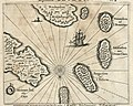 AMH-7007-KB Map of the islands of Leyden, Middelburg, Hammenhiel, Bramines, Dona Clara and Deserta.jpg