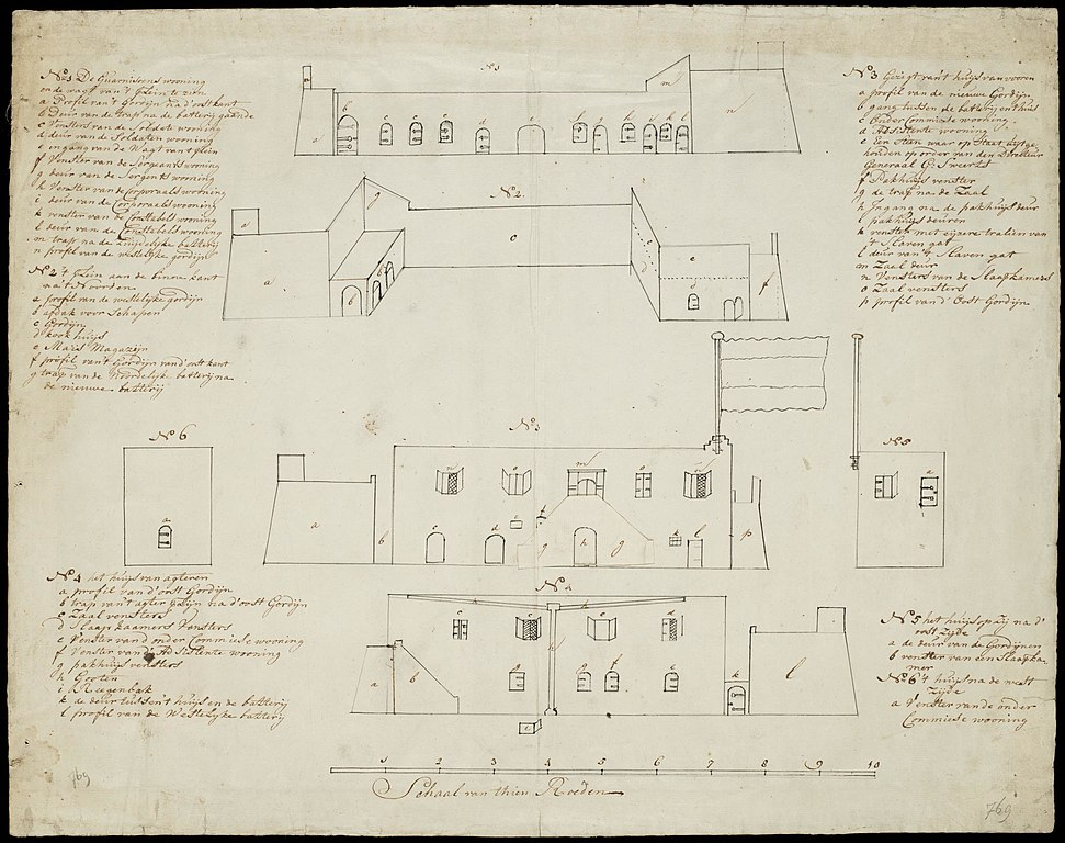 Multiplication Chart 1 Through 100: AMH-7702-NA Views of the Vredenburg fort at Komenda.jpg ,Chart