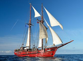 Tall Ship Atyla - Image: ATYLA during the Tall Ships Races 2014