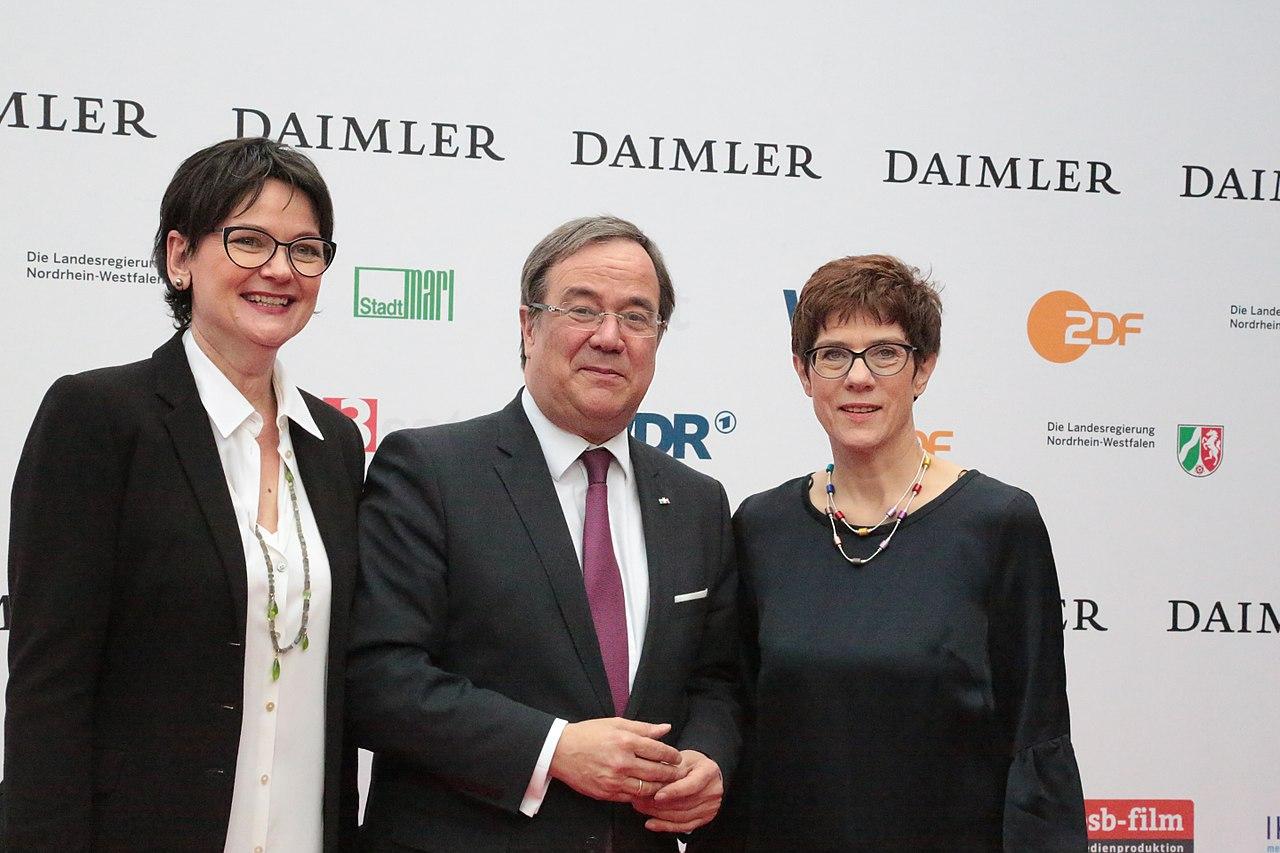 AV0A3388 Dr. Frauke Gerlach, Armin Laschet Annegret Kramp-Karrenbauer.jpg
