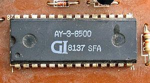 AY-3-8500 - AY-3-8500 chip