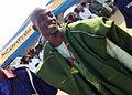 A Nigerian Yoruba groom in an Agbada made from Ebira fabric.jpg