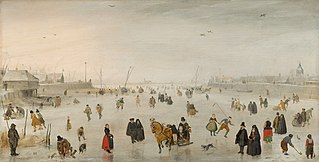 A Scene on the Ice