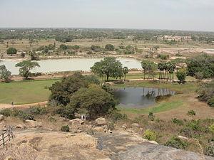 Sittanavasal - Aerial view of Sittanavasal