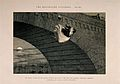A destitute girl throws herself from a bridge, her life ruin Wellcome V0019421.jpg