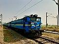 A locomotive near Palasa railway station (January 2019).jpg