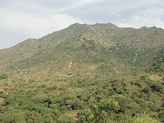 Eastern Ghats - A view of Kanjamalai hill in the Eastern Ghats near Salem, Tamil Nadu
