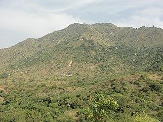 Eastern Ghats - A view of Kanjamalai hill in the Eastern Ghats near Salem, Tamil Nadu