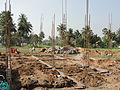 A picture on ground level building construction.JPG