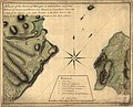 A plan of the Narrows of Hells-gate in the East River, near which batteries of cannon and mortars were erected on Long Island with a view to take off the defences and make breaches in the rebel fort LOC gm71000922.jpg
