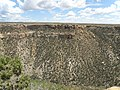 A view from above the Balcony House, Mesa Verde National Park, CO, United States - panoramio (1).jpg