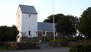 Aabybro Municipality - The church in Aabybro
