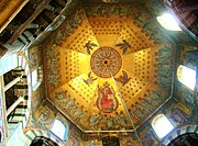 19th century ceiling of the Palatine Chapel