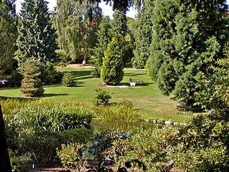 Aarhus Botanical Gardens - Image: Aarhus botanical garden 2