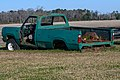 Abandoned pickup at Kelvin A. Lewis farm in Creeds 1.jpg