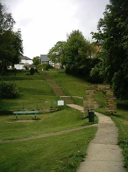 King George's Field, Wetherby Ings Access to King Georges field.jpg