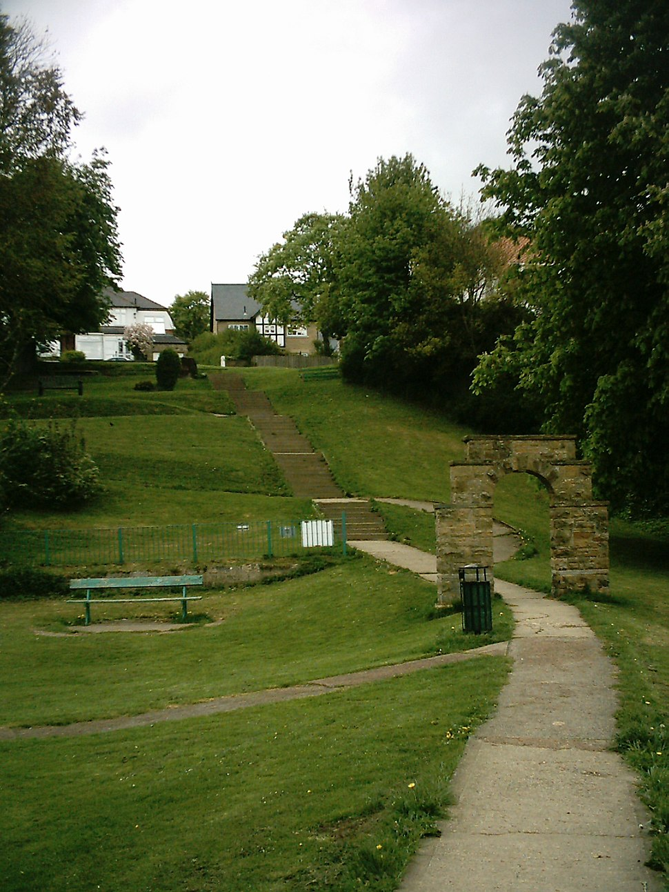 Access to King Georges field