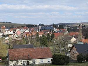 Achen, Moselle - View of Achen