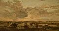 Adrien Joseph Heymans - Sunset on the Heath.jpg