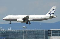 SX-DVI - A320 - Olympic Air
