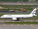 Aegean Airlines Airbus A320-232 SX-DVW at HEL 05JUN2015 02.JPG