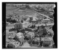 Aerial view, Jerusalem- Rehavia neighborhood and Mamilla Cemetery and Pool, viewed from west LOC matpc.13650.tif
