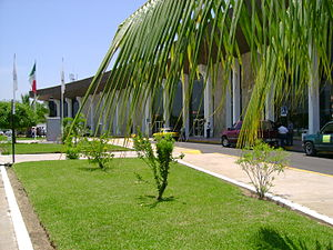 Playa de Oro International Airport - View of terminal