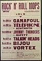 Affiche de concert Rock n' roll Mops à Lyon (Lyon capitale du rock - 1978-1983).jpg