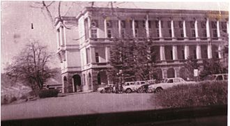 40th Army (Soviet Union) - Staff headquarters building of the 40th Army, Kabul, 1986