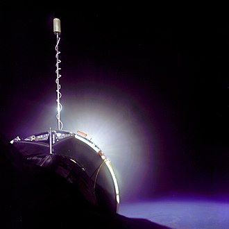 Gemini 10 - Gemini 10 is boosted into a higher orbit by its Agena Target Vehicle