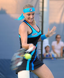 Agnes Szavay at the 2010 US Open 02.jpg