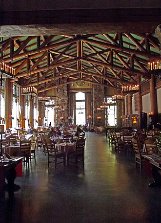Ahwahnee Hotel - The Grand Dining Room of the Ahwahnee Hotel