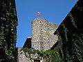 Ain, Pérouges - Maison du Prince, Tour de guet 2.jpg