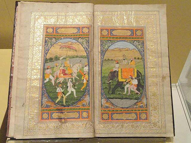 640px-Ain-i-Akbari_(The_Chronicles_of_Emperor_Akbar),_Lahore,_Pakistan,_c._1822_-_Royal_Ontario_Museum_-_DSC09640.JPG (640×480)