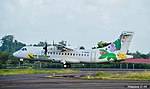 Air Antilles Express ATR 42-500 (F-OIXH) taking off (1).jpg