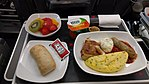 Air Canada Premium Economy Meal Breakfast 20170814.jpg
