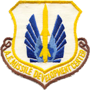 Air Force Missile Development Center - Image: Air Force Missile Development Center Emblem
