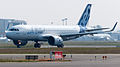 Airbus A320neo first takeoff at Toulouse Blagnac Airport 02.jpg