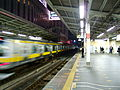 Akihabara station with Sobu line train (289724935).jpg