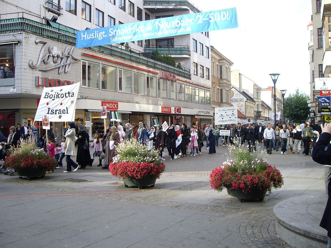 Al-Quds Day march Malmo.JPG