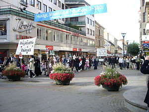 Quds Day - March in Malmö, Sweden; Al-Quds Day 2008